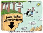 Cartoonist Lee Judge  Lee Judge's Editorial Cartoons 2014-09-24 growth
