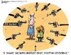 Cartoonist Lee Judge  Lee Judge's Editorial Cartoons 2014-10-31 violent