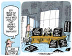 Cartoonist Lee Judge  Lee Judge's Editorial Cartoons 2014-12-19 taxation