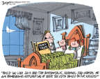 Cartoonist Lee Judge  Lee Judge's Editorial Cartoons 2014-12-30 taxation