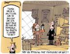 Cartoonist Lee Judge  Lee Judge's Editorial Cartoons 2015-01-21 preparation