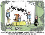 Cartoonist Lee Judge  Lee Judge's Editorial Cartoons 2015-02-12 Fox News anchor