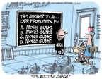 Cartoonist Lee Judge  Lee Judge's Editorial Cartoons 2015-06-24 NRA