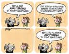 Cartoonist Lee Judge  Lee Judge's Editorial Cartoons 2015-08-11 conservative