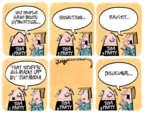 Cartoonist Lee Judge  Lee Judge's Editorial Cartoons 2015-10-07 conservative