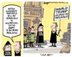 Cartoonist Lee Judge  Lee Judge's Editorial Cartoons 2016-02-26 2016 Election Bernie Sanders