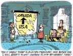 Cartoonist Lee Judge  Lee Judge's Editorial Cartoons 2016-05-27 retirement