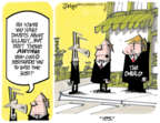 Cartoonist Lee Judge  Lee Judge's Editorial Cartoons 2016-07-31 Hillary Clinton