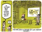 Cartoonist Lee Judge  Lee Judge's Editorial Cartoons 2017-01-19 judge