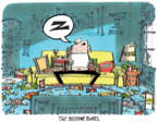 Cartoonist Lee Judge  Lee Judge's Editorial Cartoons 2017-02-05 watch sports
