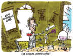 Cartoonist Lee Judge  Lee Judge's Editorial Cartoons 2017-06-11 experiment