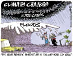 Cartoonist Lee Judge  Lee Judge's Editorial Cartoons 2017-09-10 weather