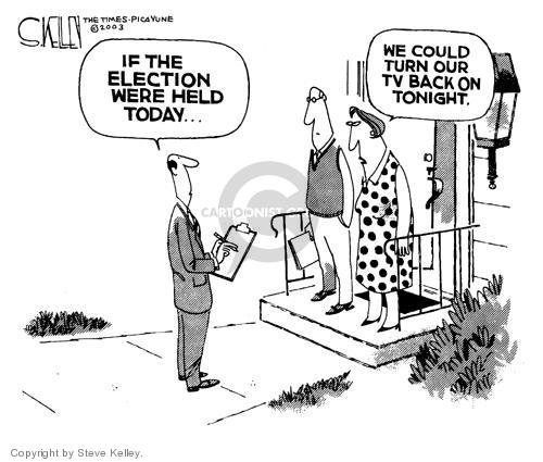 Steve Kelley  Steve Kelley's Editorial Cartoons 2003-10-02 media exposure