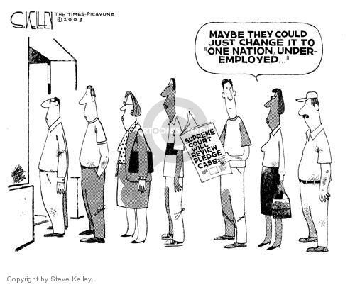 Steve Kelley  Steve Kelley's Editorial Cartoons 2003-10-16 Constitution