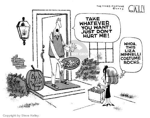 Cartoonist Steve Kelley  Steve Kelley's Editorial Cartoons 2003-10-29 mask