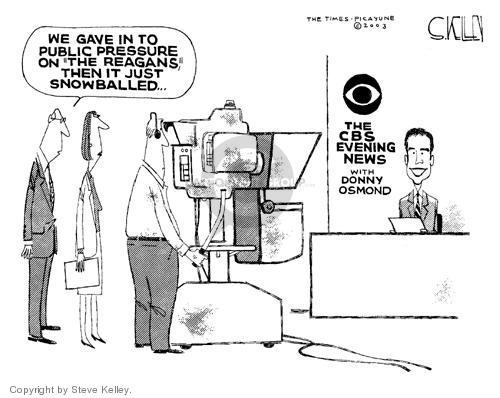 Cartoonist Steve Kelley  Steve Kelley's Editorial Cartoons 2003-11-06 film