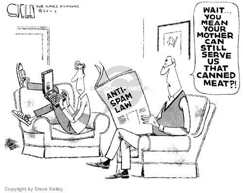 Steve Kelley  Steve Kelley's Editorial Cartoons 2003-12-26 mail