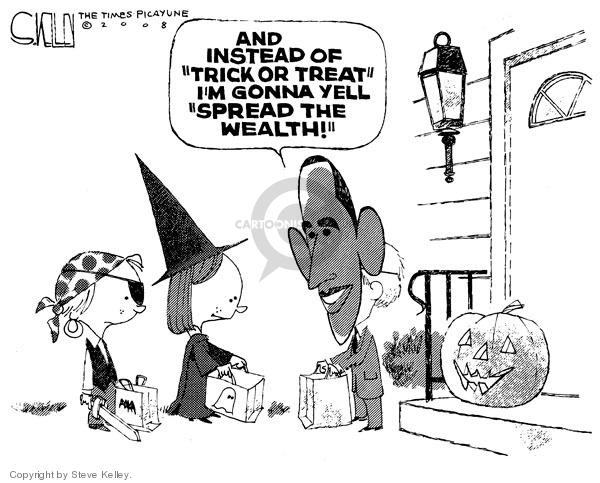 Cartoonist Steve Kelley  Steve Kelley's Editorial Cartoons 2008-10-23 2008 election