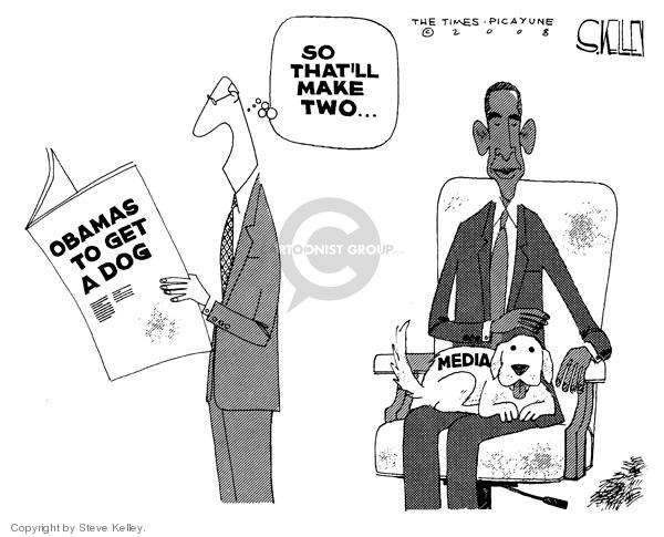 Cartoonist Steve Kelley  Steve Kelley's Editorial Cartoons 2008-11-07 2008 election