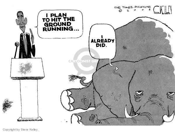 Cartoonist Steve Kelley  Steve Kelley's Editorial Cartoons 2008-11-09 2008 election