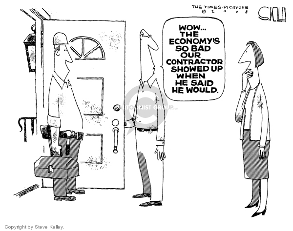 Cartoonist Steve Kelley  Steve Kelley's Editorial Cartoons 2008-11-12 wow