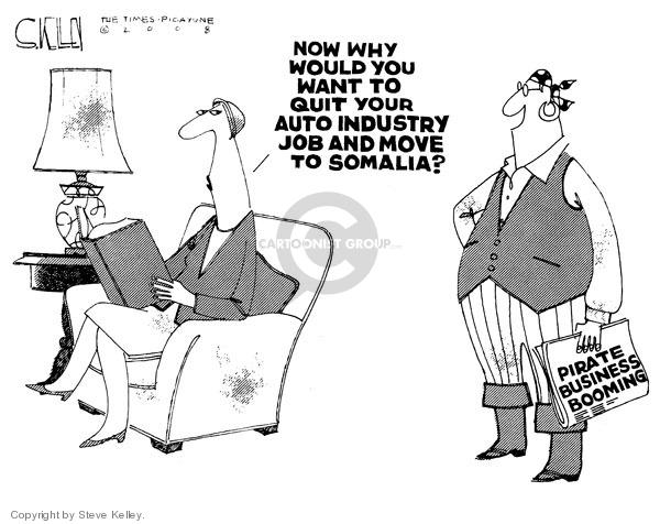 Steve Kelley  Steve Kelley's Editorial Cartoons 2008-11-21 would