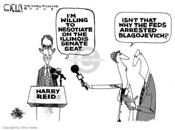 Steve Kelley  Steve Kelley's Editorial Cartoons 2009-01-06 corruption