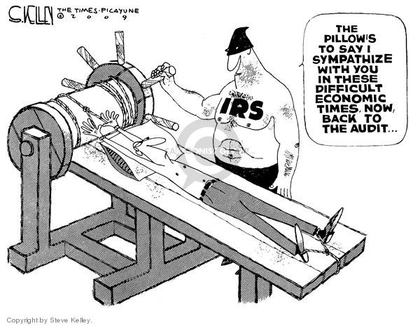 Steve Kelley  Steve Kelley's Editorial Cartoons 2009-01-08 economy