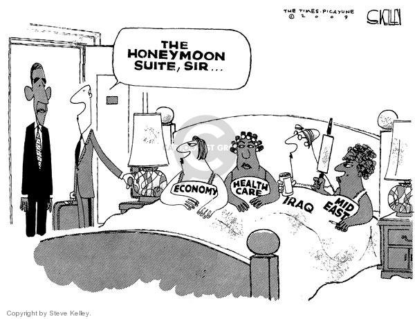 Steve Kelley  Steve Kelley's Editorial Cartoons 2009-01-21 Middle East