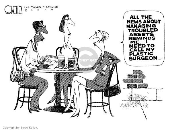 Steve Kelley  Steve Kelley's Editorial Cartoons 2009-02-09 asset