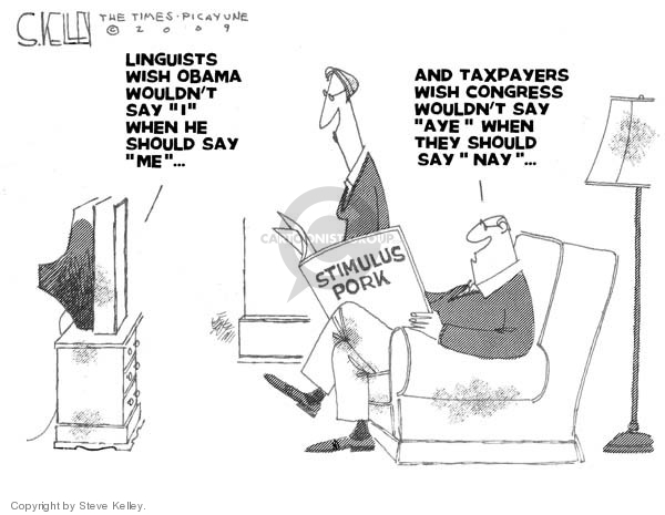 Steve Kelley  Steve Kelley's Editorial Cartoons 2009-03-04 person
