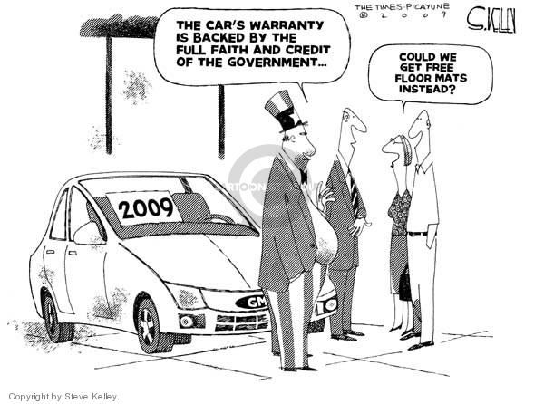 Steve Kelley  Steve Kelley's Editorial Cartoons 2009-03-31 2009