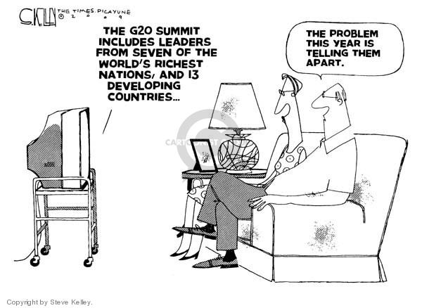Cartoonist Steve Kelley  Steve Kelley's Editorial Cartoons 2009-04-02 twenty