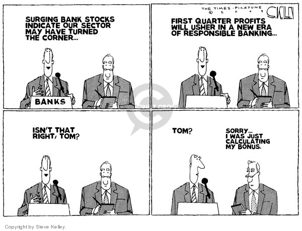 Steve Kelley  Steve Kelley's Editorial Cartoons 2009-04-10 quarter
