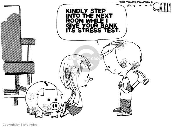 Cartoonist Steve Kelley  Steve Kelley's Editorial Cartoons 2009-04-17 regulation