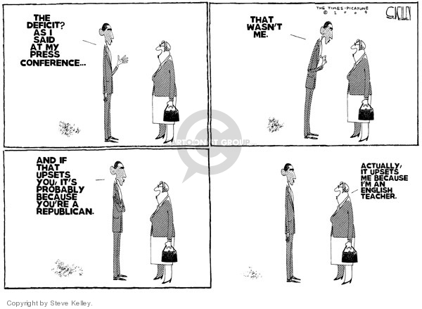 Steve Kelley  Steve Kelley's Editorial Cartoons 2009-05-01 object