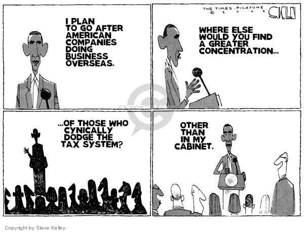 Steve Kelley  Steve Kelley's Editorial Cartoons 2009-05-06 would