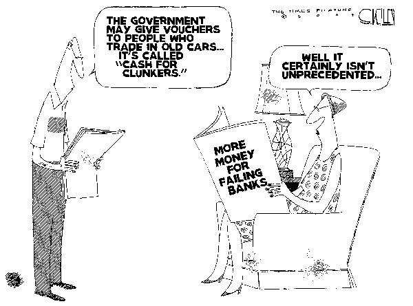 Steve Kelley  Steve Kelley's Editorial Cartoons 2009-05-08 trade