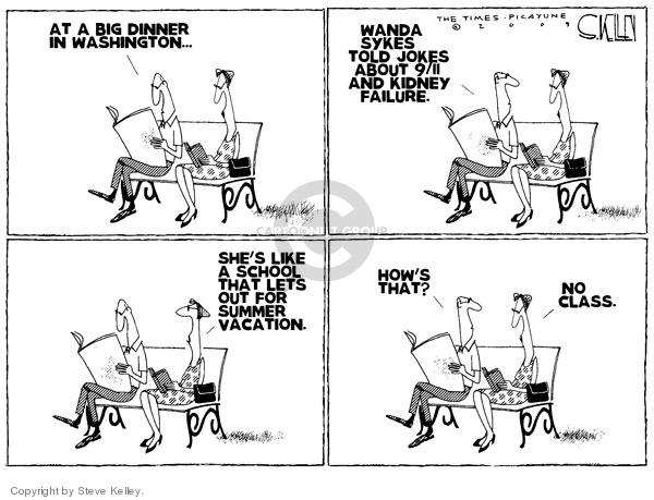 Cartoonist Steve Kelley  Steve Kelley's Editorial Cartoons 2009-05-12 summer
