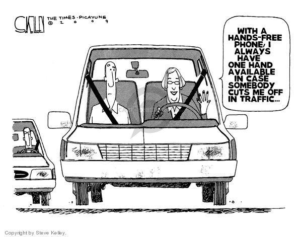 Cartoonist Steve Kelley  Steve Kelley's Editorial Cartoons 2009-05-29 drive
