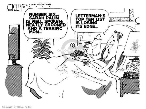 Steve Kelley  Steve Kelley's Editorial Cartoons 2009-06-17 edge