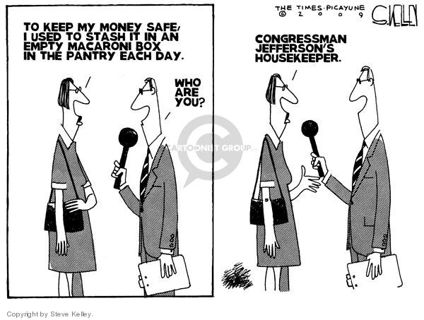 Cartoonist Steve Kelley  Steve Kelley's Editorial Cartoons 2009-06-19 corruption