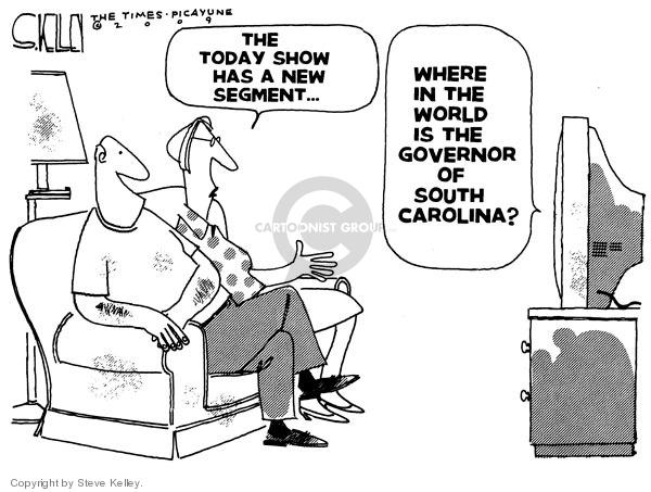 Steve Kelley  Steve Kelley's Editorial Cartoons 2009-06-25 south