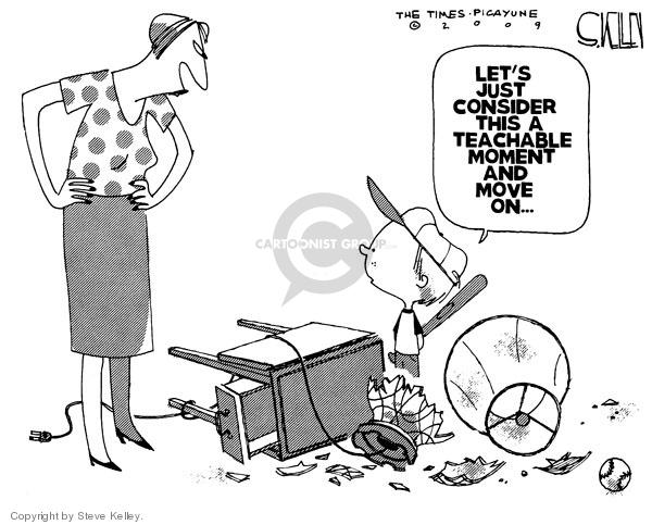 Steve Kelley  Steve Kelley's Editorial Cartoons 2009-07-28 racism