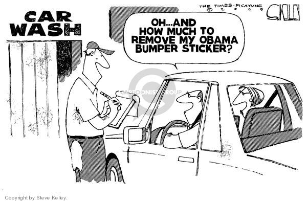 Steve Kelley  Steve Kelley's Editorial Cartoons 2009-08-27 removal
