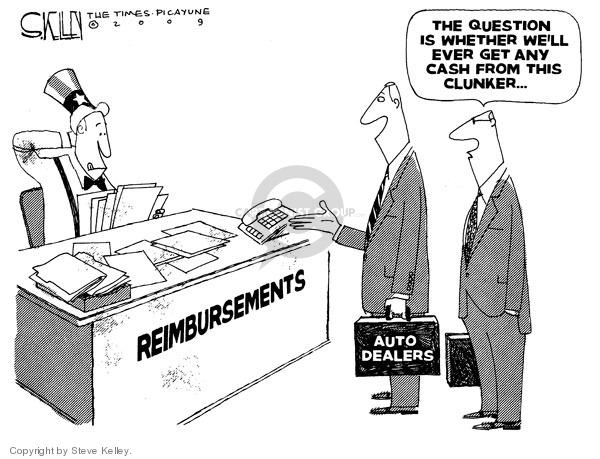 Steve Kelley  Steve Kelley's Editorial Cartoons 2009-09-02 trade