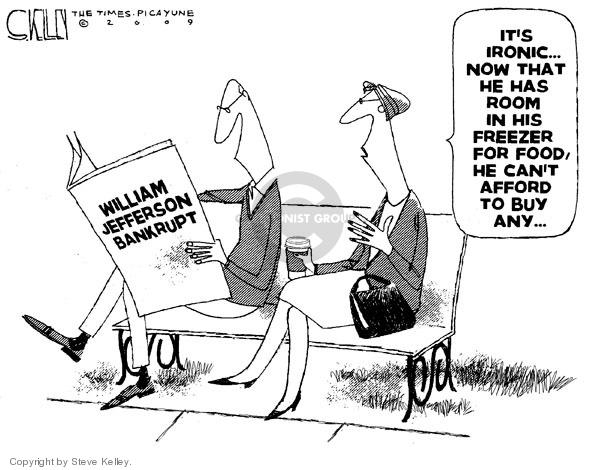 Cartoonist Steve Kelley  Steve Kelley's Editorial Cartoons 2009-11-22 corruption