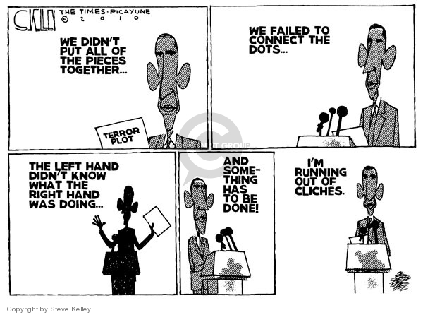 Cartoonist Steve Kelley  Steve Kelley's Editorial Cartoons 2010-01-08 analysis