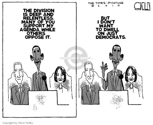 Steve Kelley  Steve Kelley's Editorial Cartoons 2010-01-28 Joe Biden
