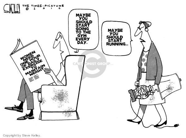 Cartoonist Steve Kelley  Steve Kelley's Editorial Cartoons 2010-03-28 threat